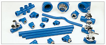 Tubi e raccordi in PPR/PPR PIPES AND FITTINGS ALFAIDRO